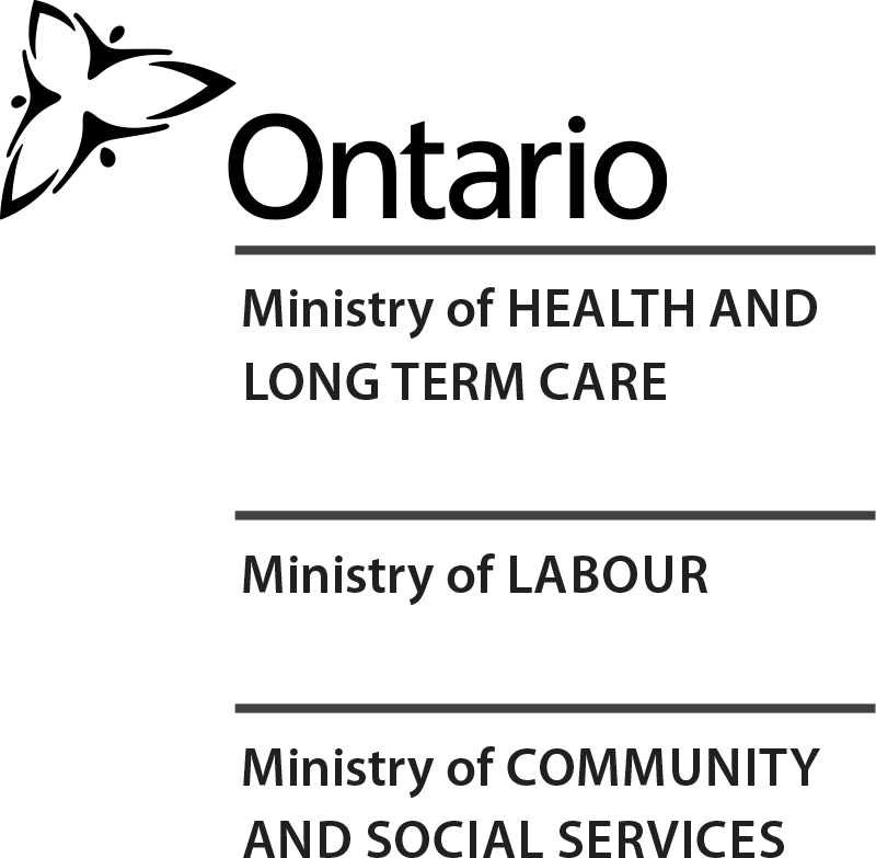 Logo of Ministry of Health & Long Term Care | Ministry of Labour